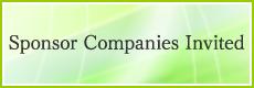 Sponsor Companies Invited